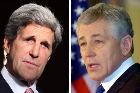 Kerry e Hagel